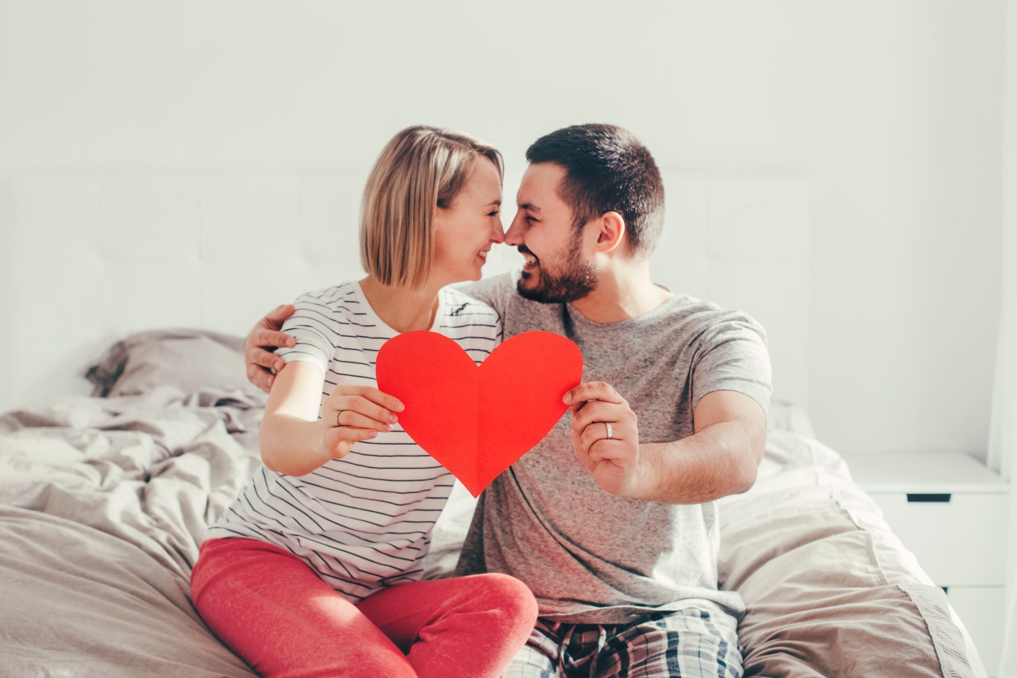 couple in love understanding each other's point of view